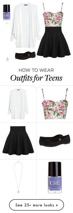 """""""Cute Outfit for Teens/Tweens!!!"""" by sparklecat102 on Polyvore featuring MANGO, ..."""