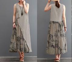одноклассники – Linen Dresses For Women Linen Dresses, Women's Dresses, Stylish Dresses, Cotton Dresses, Casual Dresses, Hijab Casual, Hijab Fashion, Boho Fashion, Fashion Dresses