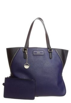 Shopping Bag - navy/black