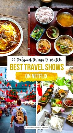 Travel shows on Netflix. Curl up on the sofa or get cozy in bed with one of these 22 travel-related TV series and movies on the popular streaming site, Netflix. Stay in and let travel come to you. | Best Things To Watch On Netflix | Travel Movies | Travel Documentaries | Netflix Travel Shows | Best Shows To Watch On Netflix | Travel Movies On Netflix