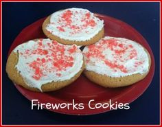 Fireworks Cookies. 3 simple ingredients! - Macaroni Kid South Shore Boston