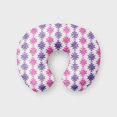 Nursing Pillow Cover Pink Purple Aztec. Nursing Pillow Cover. Aztec Boppy Cover. Tribal Cover. Baby Bedding. Nursing Pillow Cover.