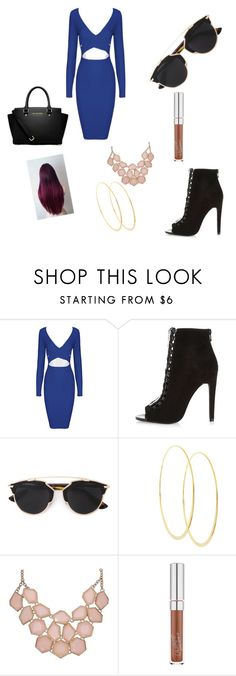 """""""Lunch"""" by adorably3vil on Polyvore featuring River Island, Christian Dior, Lana and MICHAEL Michael Kors"""