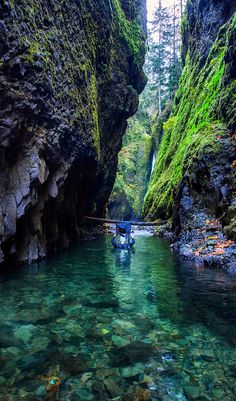 Oneota Gorge, Oregon. Get your daily dose of Oregon, USA culture, food, art and travel over at; bit.ly/CultureTripOregonUSA