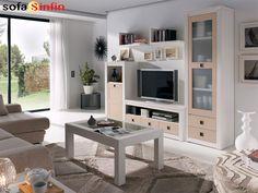 Sofassinfin.es Mueble de salón la de Colección Crea-6 fabricados por Jimenez Viso.