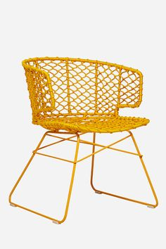 Breeze Chair, Mustard