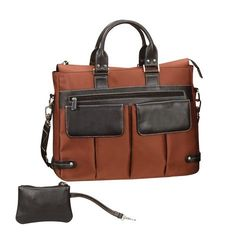 THE EURO LADIES BUSINESS TOTE BAG - RUST    electronic gifts for women