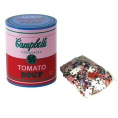 Quebra-cabeça Andy Warhol Campbell's Soup Pink 200 peças