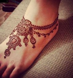 Image de henna and tattoo