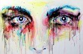"""""""Androgyne"""", 2012acrylic, canvas 80x120 cm"""