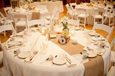 rustic gray and yellow centerpieces, photo by Ruth Eileen Photography Burlap Centerpieces, Yellow Centerpieces, Flower Centerpieces, Wedding Centerpieces, Wedding Bouquets, Wedding Decorations, Centerpiece Ideas, Honeymoon Planning, Wedding Planning