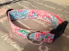 Olive needs this! Lilly Pulitzer Lobstah Roll Dog Collar MADE TO by pawsitivestyle, $11.00