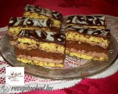 Érdekel a receptje? Kattints a képre! Sweets Recipes, Nutella, Tiramisu, French Toast, Cheesecake, Food And Drink, Breakfast, Ethnic Recipes, Morning Coffee