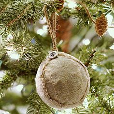 Blessed Are the Meek Ornament | Remember the reason for the season with this subtle religious Christmas ornament.
