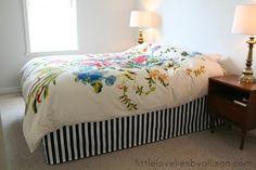 DIY Crafts DIY easy DIY bed skirt
