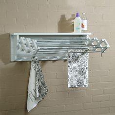 1000 id es sur le th me etendoir mural sur pinterest murale tendoir lin - Etendoir a linge pour salle de bain ...