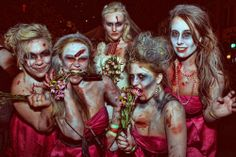 Zombie bridesmaids.....this is awesome! !
