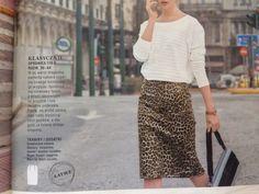 A pencil skirt /  Burda PL nr 8/2015