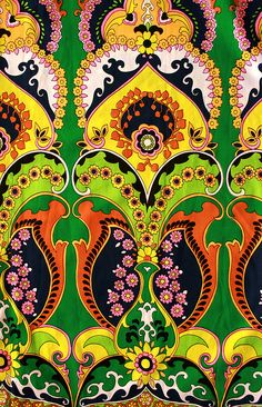the colors and the boldness of the pattern... nearly perfect.