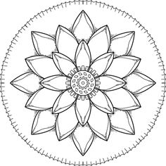 """This is """"Simple Time"""", a coloring page for you to print, color, and share. :) https://mondaymandala.com/m/simple-time?utm_campaign=sendible-tw&utm_medium=social&utm_source=pinterest&utm_content=simple-time"""