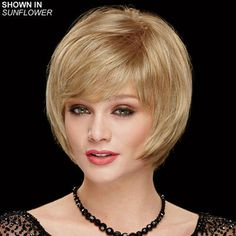 Sheer Dynamic WhisperLite® Wig by Couture Collection is an updated layered bob-style wig in super-light WhisperLite® fibers.