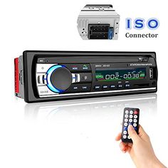 Car Stereo with Bluetooth, Cavogin Universal In-Dash Single Din Car Radio Receiver MP3 Player / USB / SD Card / AUX / FM Radio with Remote Control. For product info go to:  https://www.caraccessoriesonlinemarket.com/car-stereo-with-bluetooth-cavogin-universal-in-dash-single-din-car-radio-receiver-mp3-player-usb-sd-card-aux-fm-radio-with-remote-control/