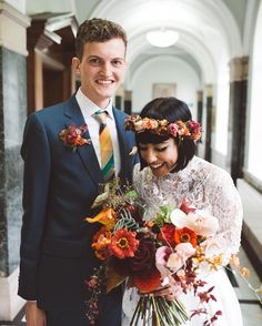 These two.   by @danwalker.photography #weddinginspiration #weddingplanning #weddingflowers #brideandgroom #weddingphotography #weddingflorist #londonflorist #floralfix #flowersofinstagram #flowerstagram #fotd #autumn #autumnwedding #fotd #bridalbouquet #orangeflowers