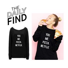 """""""The Daily Find: Emi Jay Sweatshirt"""" by polyvore-editorial ❤ liked on Polyvore featuring DailyFind"""
