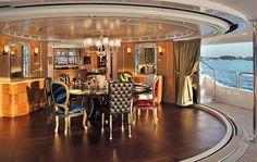 Luxury yachting