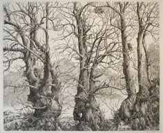 Dirk van Gelder (1907 - 1990) Three trees