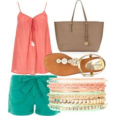 Summer outfit by mrojas-002, via Polyvore