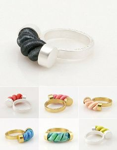 TheCarrotbox.com modern jewellery blog : obsessed with rings // feed your fingers!: Fruit Bijoux / In God We Trust
