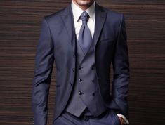 Wedding tuxedo - the gentleman butterfly Blue Suit Wedding, Tuxedo Wedding, Wedding Men, Wedding Suits, Blue Suit Men, Pieces Men, Mens Suits, Gentleman, Suit Jacket