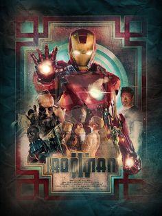 Iron Man 3 poster by ~turk1672 on deviantART