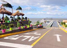 nicaragua52: Managua, Nicaragua: harbour on Lake Managua / Lago Xolotlán - driving to the pier - Puerto Salvador Allende - malécon - photo by M.Torres (c) Travel-Images.com