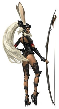 Fran CG - Characters & Art - Final Fantasy XII: Revenant Wings