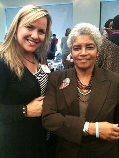 Thank you Julie Huff and former Atlanta Mayor, Shirley Franklin, for wearing your T.H.I.N.K. bracelet!