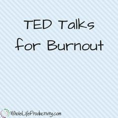 I'll be honest; I'm getting a little fried talking about burnout. So today I'll give you the TED talks that can help with burnout or just plain ol' stress. Inspirational Ted Talks, Inspirational Videos, Meditation, Self Development, Leadership Development, Personal Development, Leadership Tips, Professional Development, Business Motivation
