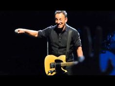 Bruce Springsteen 2013-05-04 Stockholm - Darkness album introduction