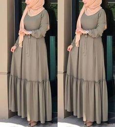 Maxi dresses with hijab styles – Just Trendy Girls Maxi dresses with hijab styles – Just Trendy Girls Modest Fashion Hijab, Modern Hijab Fashion, Muslim Women Fashion, Islamic Fashion, Abaya Fashion, Fashion Dresses, Hijab Chic, Modest Dresses, Stylish Dresses