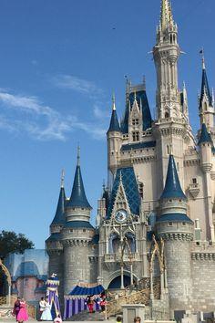 Cinderella's castle- Walt Disney World