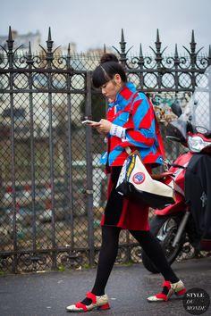 Susie Lau Style Bubble Street Style Street Fashion Streetsnaps by STYLEDUMONDE…