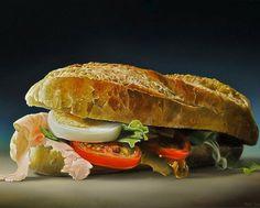 Tjalf Sparnaay, um pintor holandês autodidata, criou essas obras incríveis que retratam as nossas comidas do dia-a-dia, inclusive aquelas não tão bonitas de se ver. As obras são tão realistas que facilmente passam por fotografias. Fonte