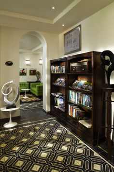 Hotel Penaga, Georgetown, Penang - luxury heritage boutique hotel in the heart of Georgetown - Library