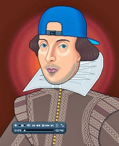 "type ""Shakespeare English project"" into YouTube's search box, and you'll find links to a long list of school assignments. Terry's Macbeth rap is there. So is a short video retelling of Romeo and Juliet with animated characters from a video game, The Sims 2. Another high school student posted Hamlet: The Silent Film, a Keystone Kops-like version of the Prince of Denmark's climactic swordfight with Laertes."