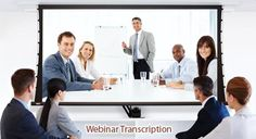 Transcription of webinars also means; that businesses can promote their niche keywords online and gain more internet presence. Transcription Services India (TSI) offers webinar transcription solutions at prices that will make you smile, even if you are on a bootstrap budget. http://www.transcriptionservicesindia.com/blog/reach-out-to-a-larger-audience-with-webinar-transcription-services