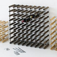 89 besten weinregale bilder auf pinterest recycled furniture wine cellars und creative ideas. Black Bedroom Furniture Sets. Home Design Ideas