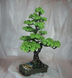 Деревья из бисера / Бисер / Деревья из бисера: схемы, мастер классы