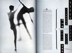 Alexei Brodovich, editorial design at Harper's Bazaar, 1940-1950.