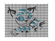 Cheshire Cat cross stitch